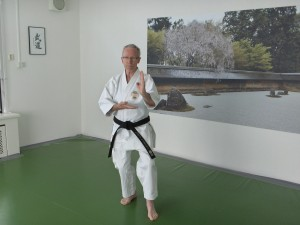 1. Herman sensei in dojo